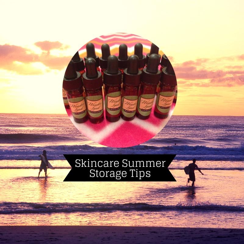 Tend Your Skin Thursdays: Skincare  Summer Storage Tips