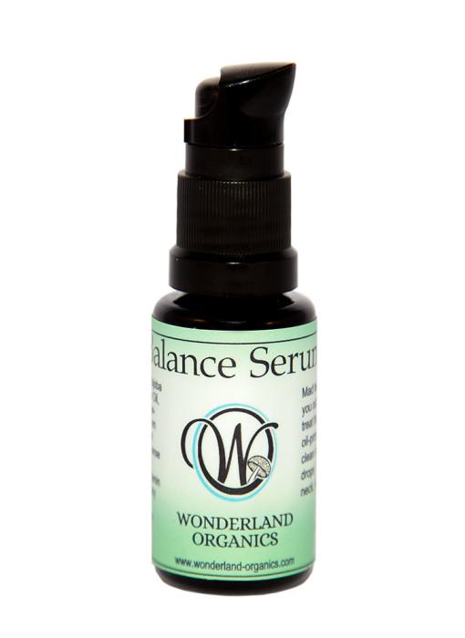 Wonderland Organics, Balance Serum, natural skincare, green beauty, facial oil