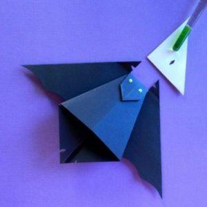 Origami Bats via Sherry Venegas